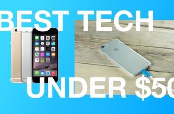 Top 3 Tech Under $50