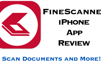 Fine Scanner App Review