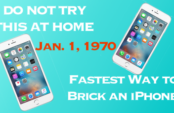Brick Your iPhone Jan. 1, 1970
