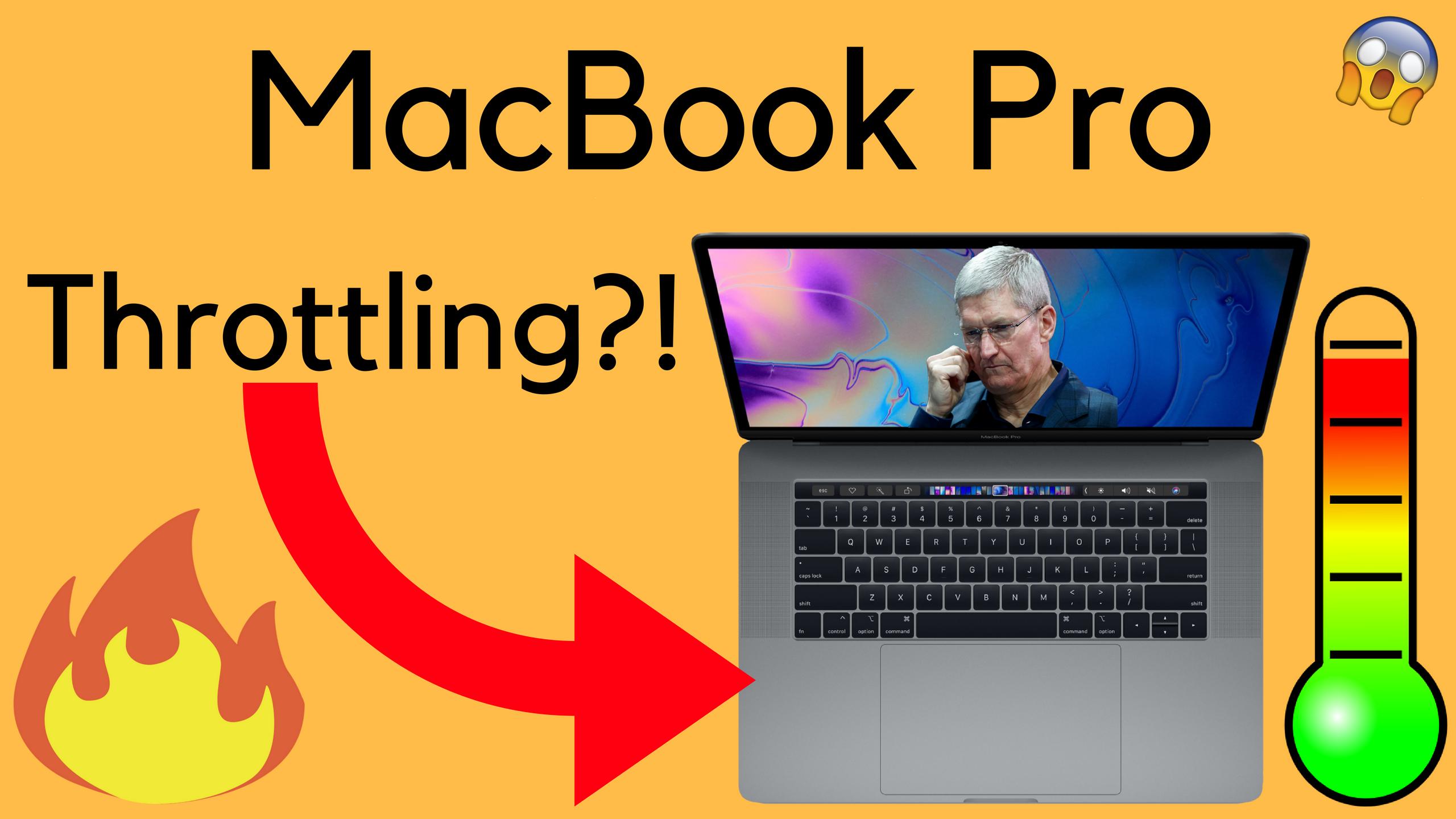 MacBook Pro THROTTLING