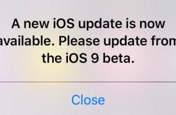iOS 9 Beta Update