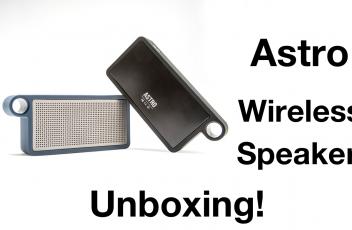 Astro Speaker Unboxing