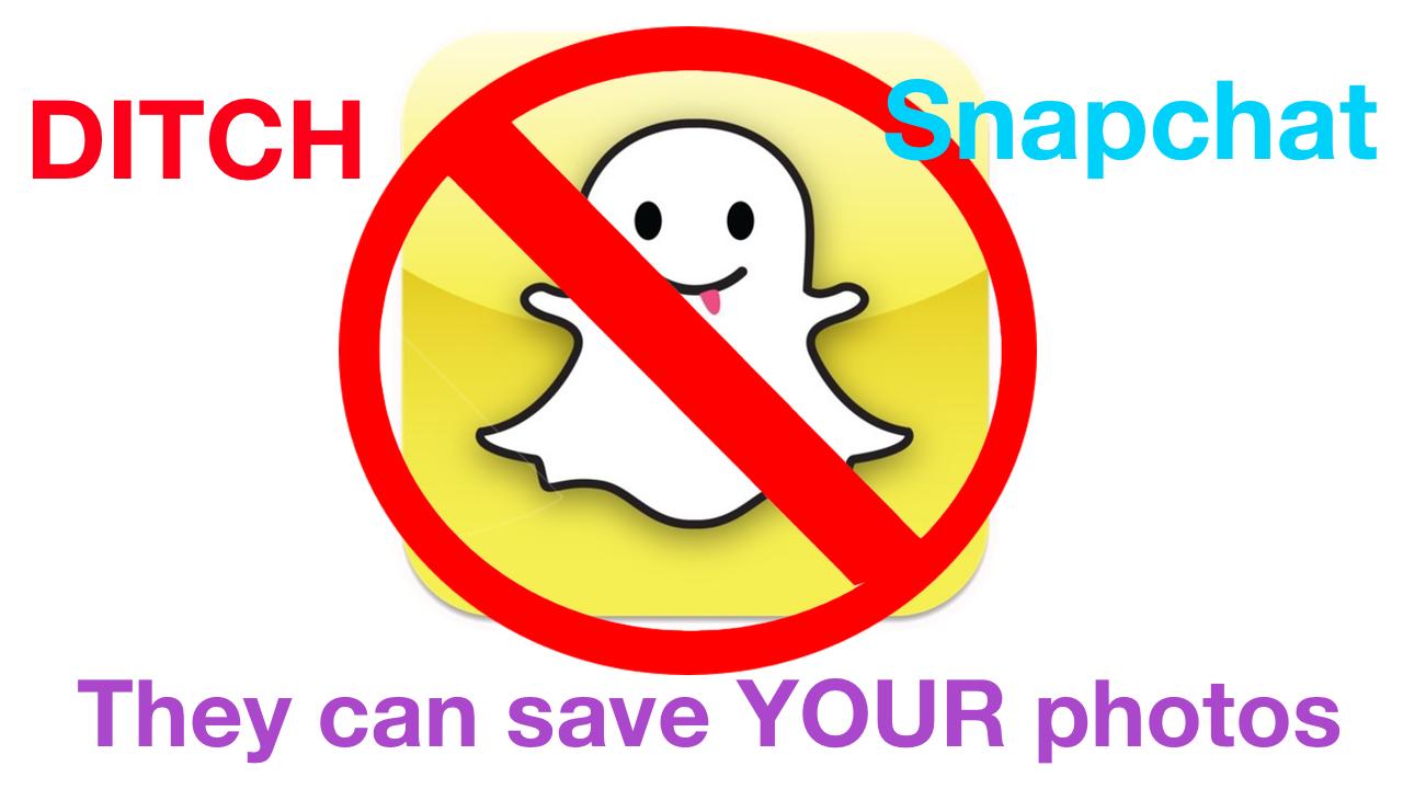 Ditch Snapchat