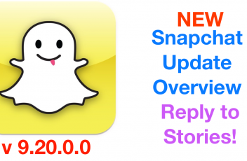 Snapchat Update 9.20.00